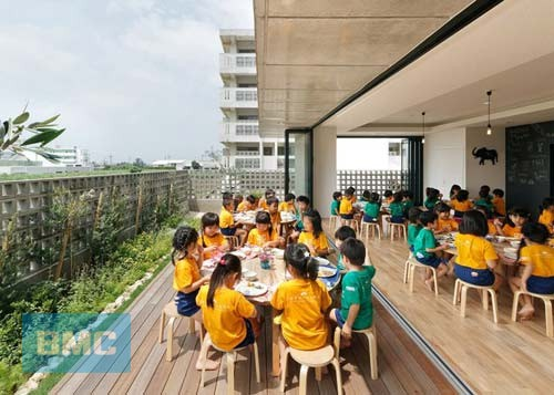 Thiết kế nội thất trường học