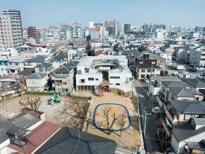 thiết kế trường mầm non Tomonoki Nhật Bản