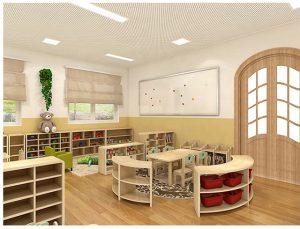 tiêu chuẩn thiết kế trường mầm non Montessori 1