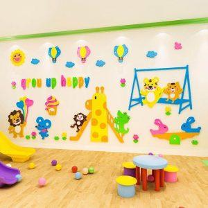 ý tưởng thiết kế góc học tập cho trẻ mầm non 9