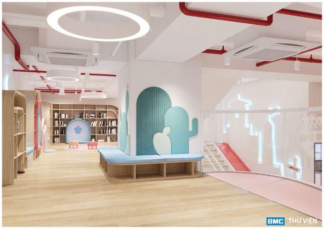 Thư viện trường mầm non Maple Bear