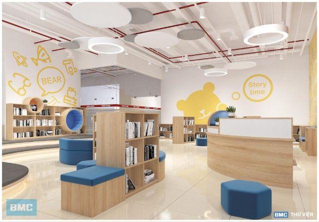 Thiết kế nội thất trường tiểu học Maple Bear Đà Nẵng