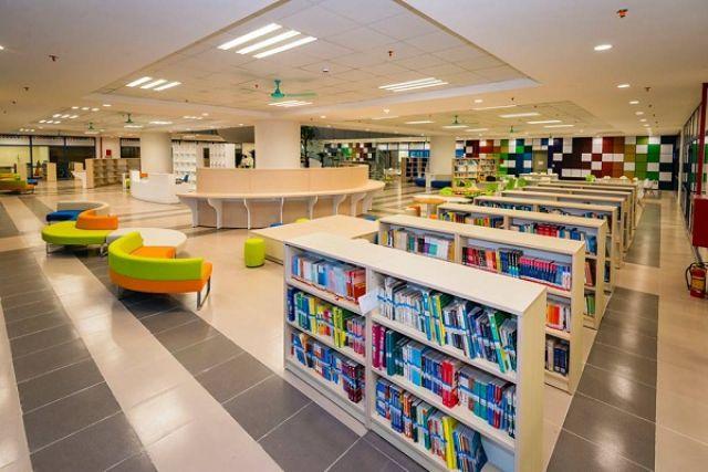 Thư viện đại học Kinh tế quốc dân